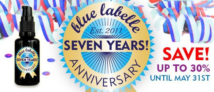 Blue Labelle 7th Anniversary!