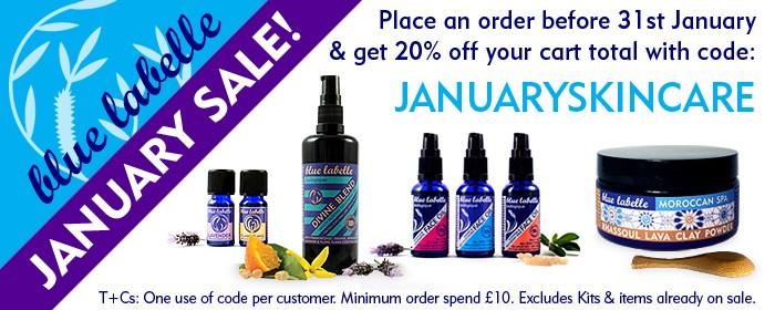 Blue Labelle Skincare January Sale