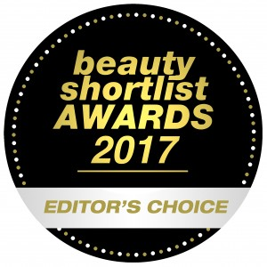 Beauty Shortlist EDITORS CHOICE WINNER 2017