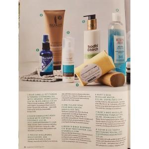 Natural facial cleanser veggie recipe magazine