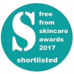Freefrom Skincare Awards Shortlisted