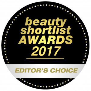Beauty Shortlist EDITORS CHOICE WINNER 2017
