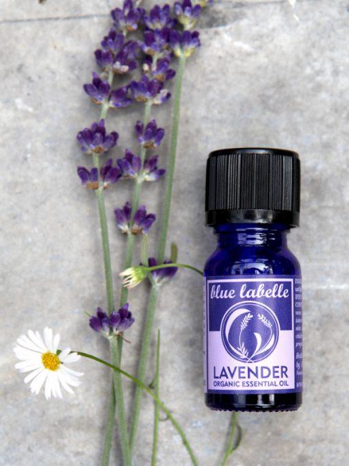 Lavender essential oil, Organic lavender oil