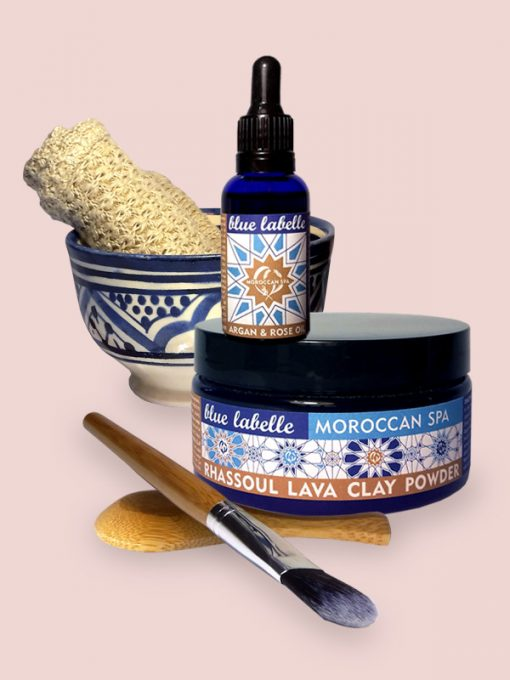 Spa Gift Sets | Clay Mask | Argan Oil | Moroccan Spa Set