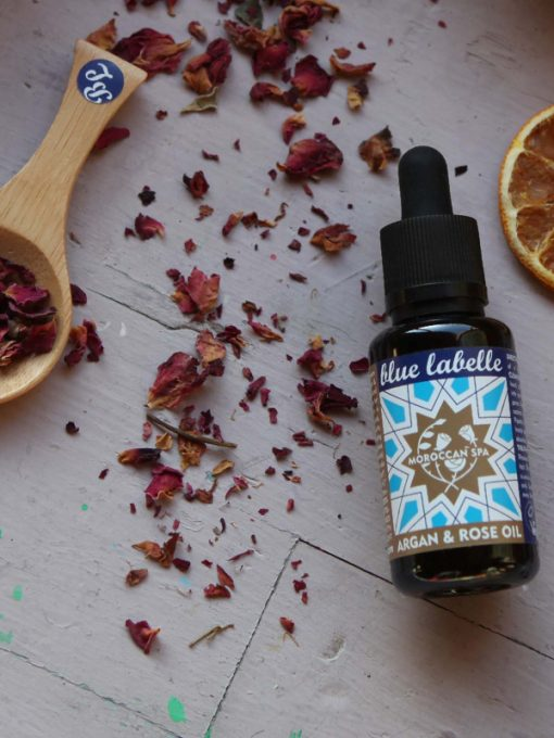 Organic Argan Oil, Rose Oil for face treatments
