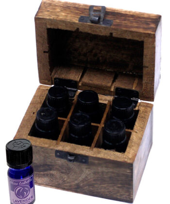 Aromatherapy Essentials | 6 Oils plus a Box