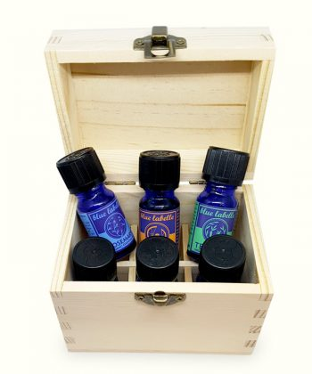 Aromatherapy Essentials | 5 Oils plus a Box