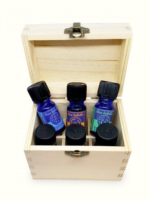 Aromatherapy Essentials | 5 Oils plus a Box