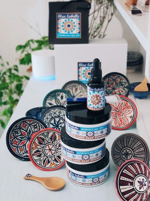 Moroccan bowl - bowl for face masks