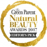 Green Parent Magazine Natural Skin Care Awards