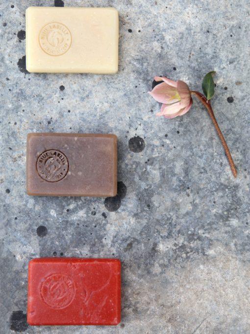 Blue Labelle organic soap Uk, clay soap, orange blossom soap