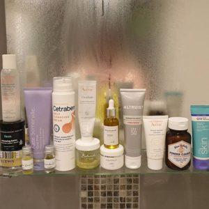 Glow powder cleanser, cleansing powder,