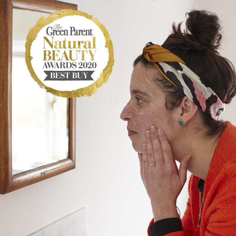 Glow Powder Cleanser wins Natural Beauty Award
