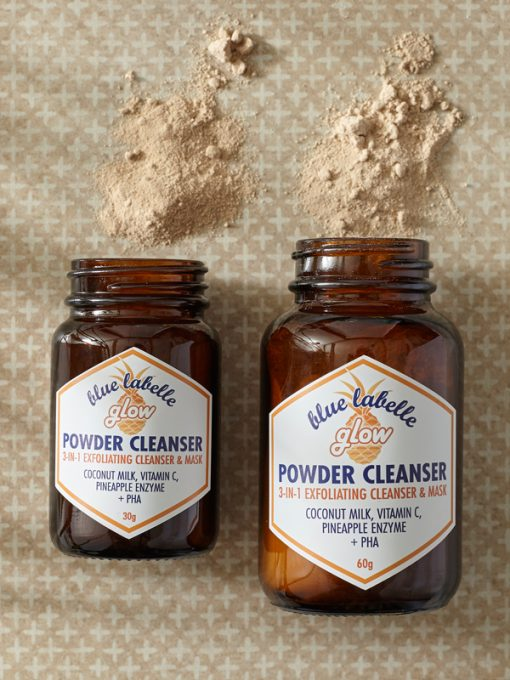 Glow powder cleanser, cleansing powder, vitamin c cleanser