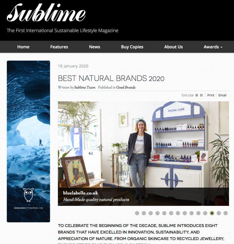 Blue Labelle Best Natural Brands