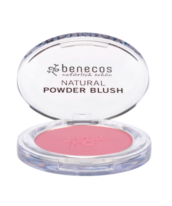 Benecos Natural Compact Blush, Mallow Rose