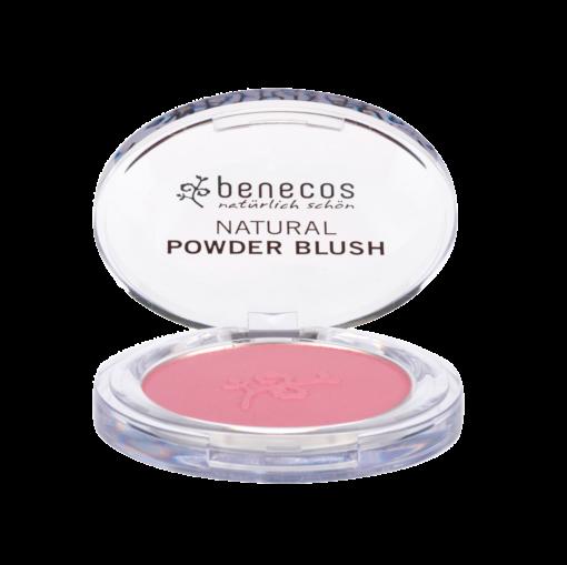 Benecos Natural Compact Blush, Mallow Rose