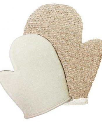 Jute Exfoliating Body Glove