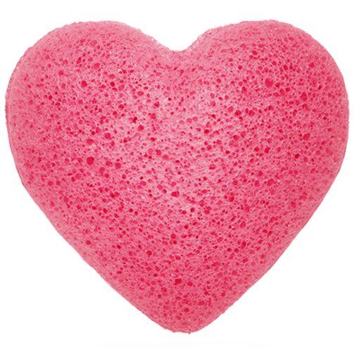 Konjac Facial Sponge - Rose Heart