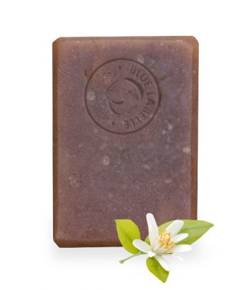 Blue Labelle organic soap Uk, clay soap, neroli soap