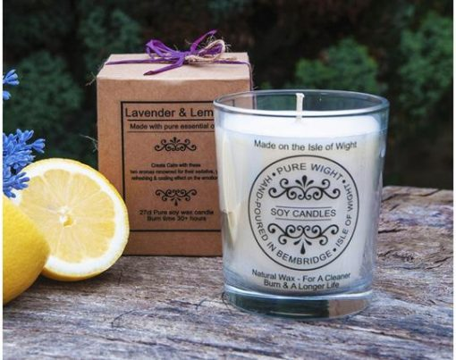 Lavender & Lemon Candle