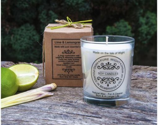 Lime & Lemongrass Candle