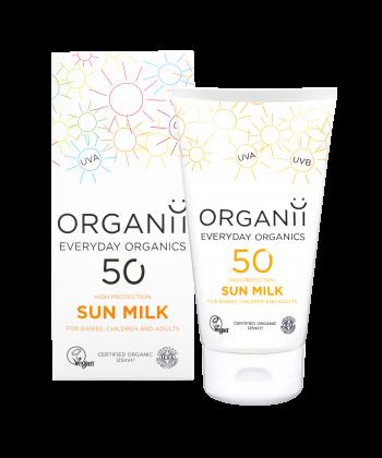 Organic Sunscreen Organii SPF 50 Sun Milk