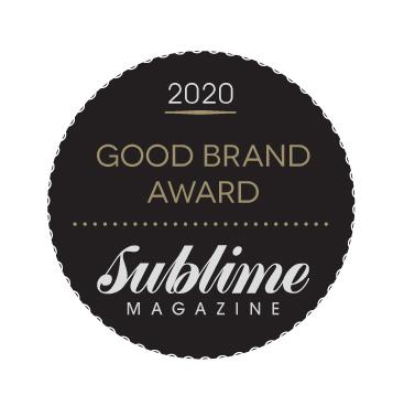 Sublime Good Brand Award 2020 Blue Labelle Natural Skincare