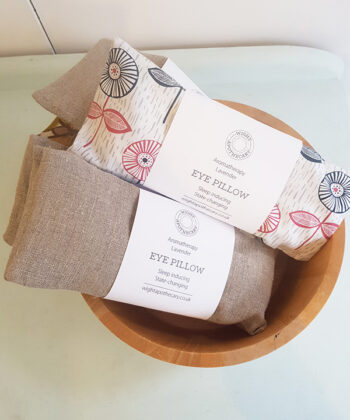 Lavender eye pillows by Wight Apothecary