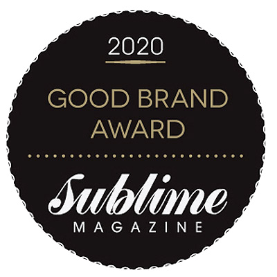Sublime Magazine Good Brand Awards 2020 Natural Skin Care