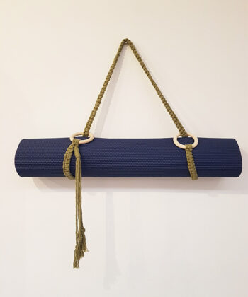 Yoga Mat Carrying Strap by Wight Apothecary