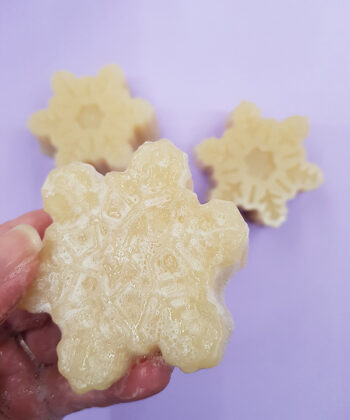 Snowflake Soap by Blue Labelle
