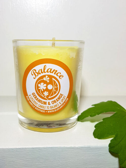 Blue Labelle Balance Soy Candle small