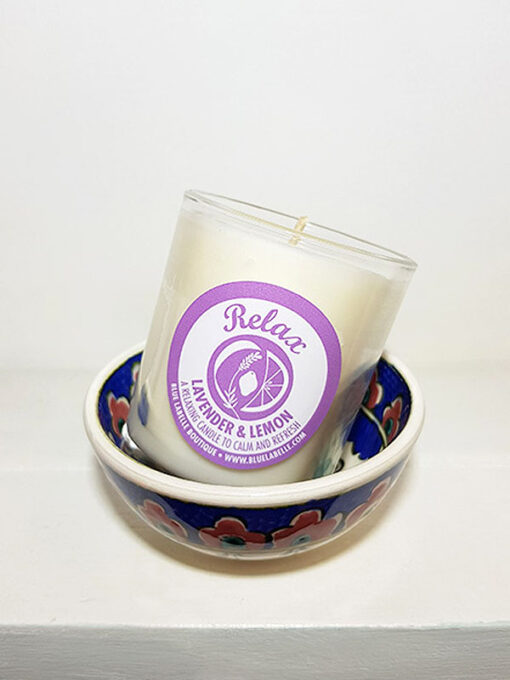 Blue Labelle Relax Candle small