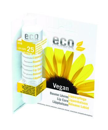 eco cosmetics spf 25 lip balm