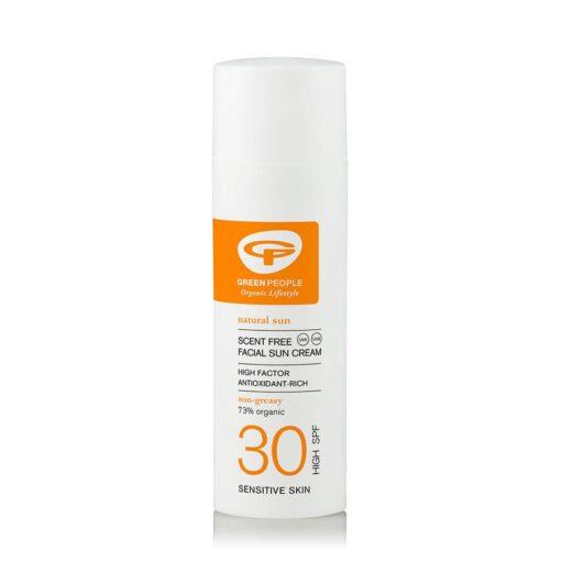 Green People facial sun cream SPF 30